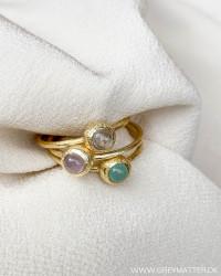 Three Multicolor Rings