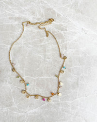 Twinkle Multi Color Necklace