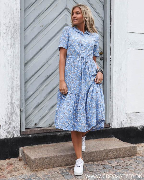 Pieces Pcmie Blue dress set forfra