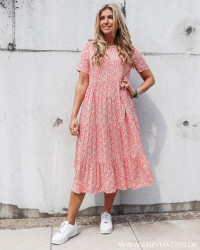 Pcjonna Fiesta Flowers Midi Dress