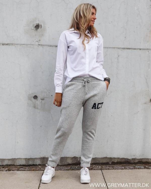 Sweat bukser fra Pieces
